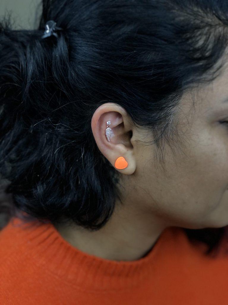 kulak kıkırdağı piercing